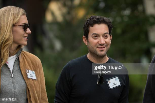 Jon Oringer chief executive officer of Shutterstock attends the fourth day of the annual Allen Company Sun Valley Conference July 14 2017 in Sun...
