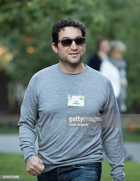 Jon Oringer chief executive officer of Shutterstock attends the annual Allen Company Sun Valley Conference July 8 2016 in Sun Valley Idaho Every July...