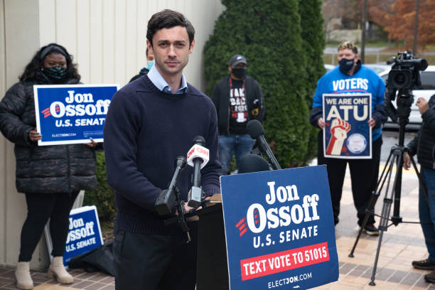 GA: Georgia Senate Candidate Jon Ossoff Holds Press Conference on Sen. Perdue's Stock Trading Revelations