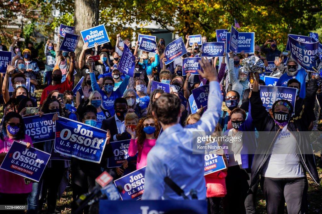 Jon Ossoff Atlanta Senate Race Runoff US Election : News Photo