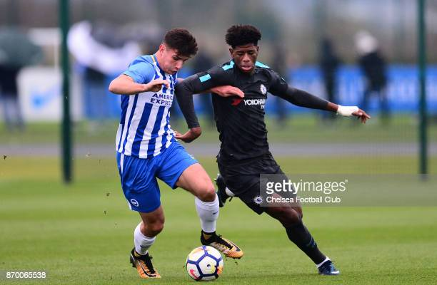Jon Panzo of Chelsea during a Premier League Cup match between Brighton Hove Albion and Chelsea on November 4 2017 in Brighton England