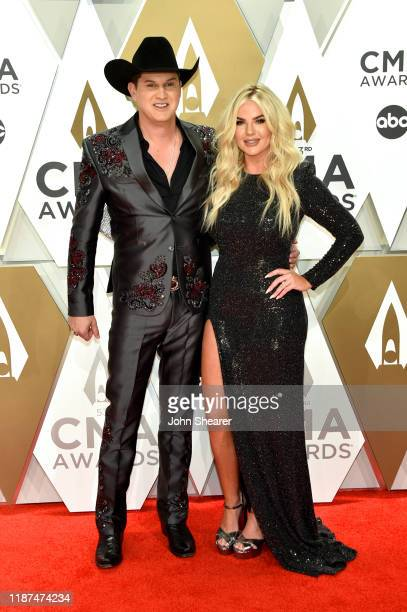 Jon Pardi and Summer Duncan attend the 53rd annual CMA Awards at the Music City Center on November 13, 2019 in Nashville, Tennessee.