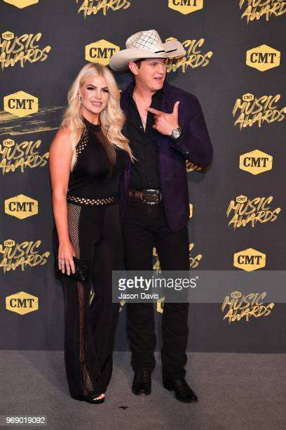 Jon Pardi arrives at the 2018 CMT Music Awards at Bridgestone Arena on June 6 2018 in Nashville Tennessee