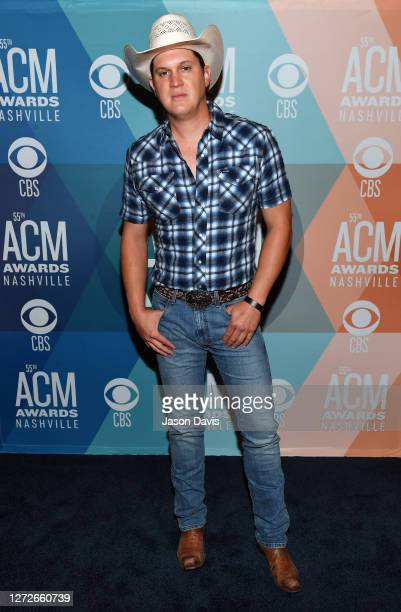 Jon Pardi attends virtual radio row during the 55th Academy of Country Music Awards at Gaylord Opryland Resort & Convention Center on September 15,...