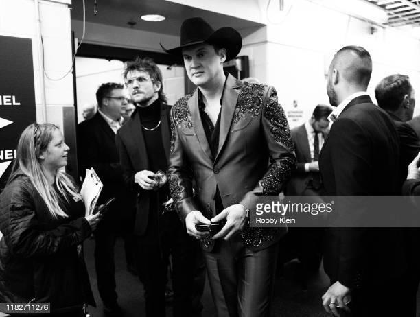 Jon Pardi backstage during the 53rd annual CMA Awards at Bridgestone Arena on November 13 2019 in Nashville Tennessee