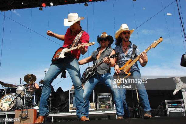 Jon Pardi performs at the 2014 Stagecoach California's Country Music Festival at The Empire Polo Club on April 25, 2014 in Indio, California.