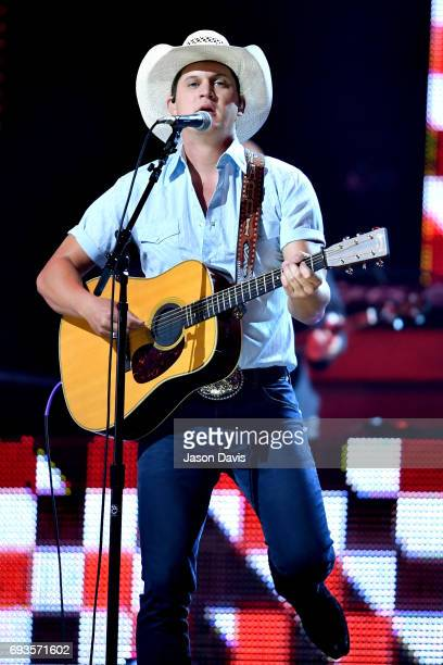 Jon Pardi performs onstage at the 2017 CMT Music Awards at the Music City Center on June 7 2017 in Nashville Tennessee
