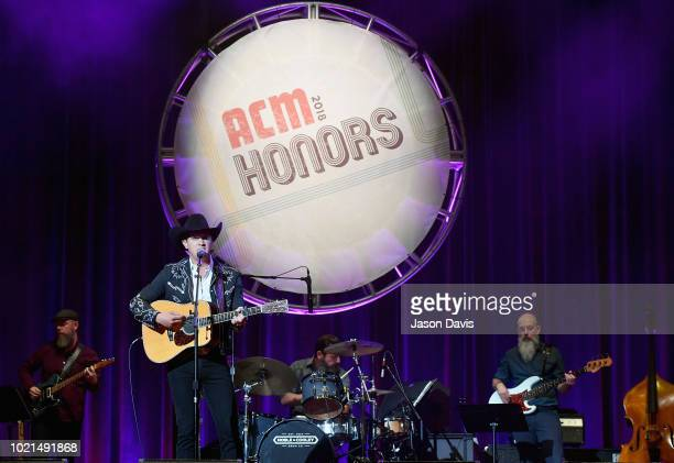Jon Pardi performs onstage during the 12th Annual ACM Honors at Ryman Auditorium on August 22 2018 in Nashville Tennessee