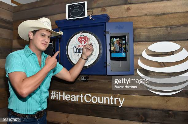 Jon Pardi poses backstage at the 2018 iHeartCountry Festival By ATT at The Frank Erwin Center on May 5 2018 in Austin Texas