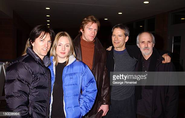 Jon Patrick Walker Hope Davis Denis Leary actor / producer Campbell Scott and director Alan Rudolph