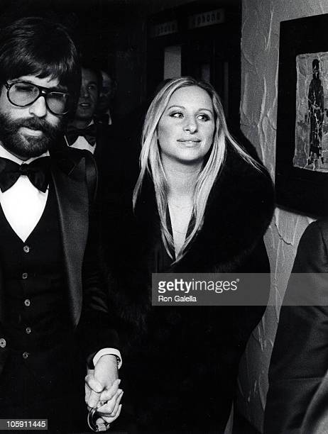 Jon Peters and Barbra Streisand during Funny Lady Washington DC Premiere at Kennedy Center in Washington DC Maryland United States