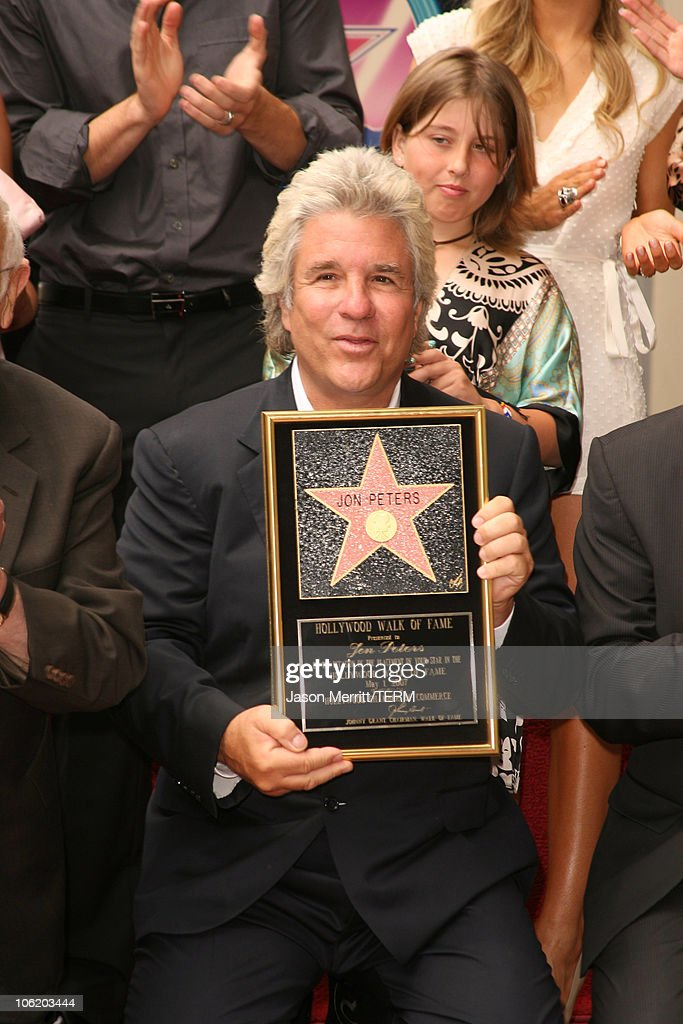 Jon Peters Honored with a Star on the Hollywood Walk of Fame - May 1, 2007
