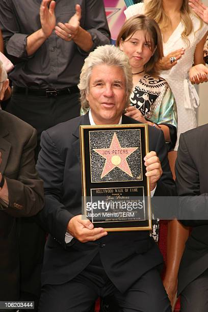 Jon Peters during Jon Peters Honored with a Star on the Hollywood Walk of Fame May 1 2007 at 6925 Hollywood Blvd in front of Grauman's Chinese...