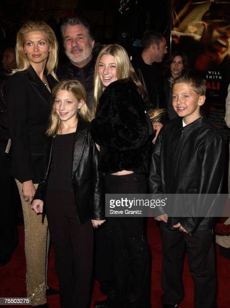 Jon Peters Family at the Chinese Theater in Hollywood California