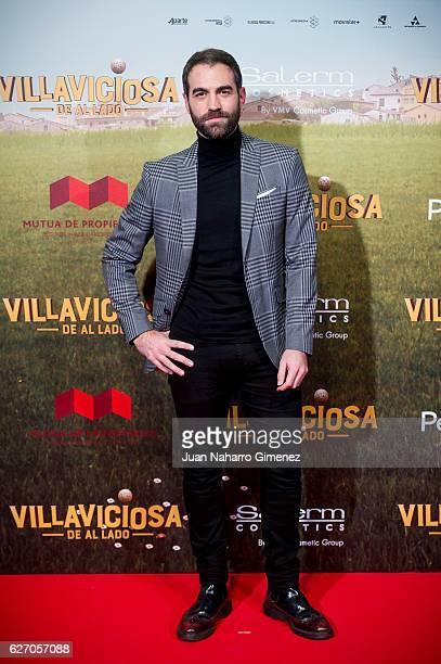 Jon Plazaola attends 'Villaviciosa De Al Lado' premiere at Capitol Cinema on December 1 2016 in Madrid Spain