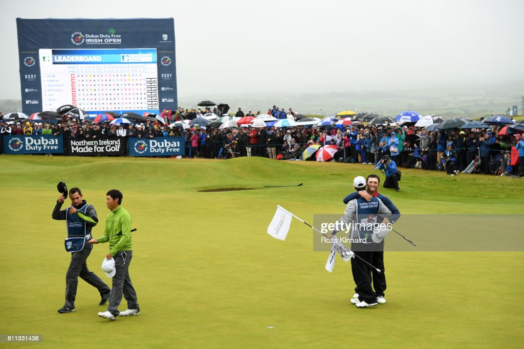 Dubai Duty Free Irish Open - Day Four : News Photo