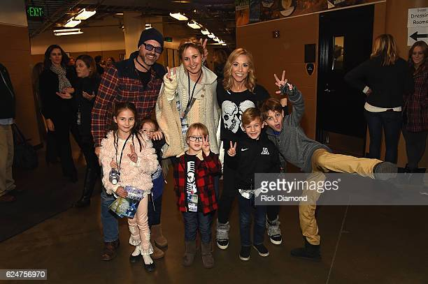 Jon Randall Jessi Alexander Sheryl Crow and guests attend an Evening with Scott Hamilton and Friends to Benefit Scott Hamilton Cares Foundation at...
