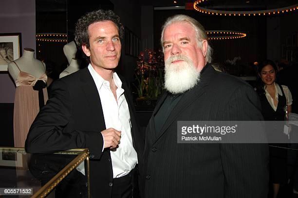 Jon Rubin and Jeff Ayeroff attend Kiki De Montparnasse Private Dinner at Kiki De Montparnasse on May 22 2006 in New York City