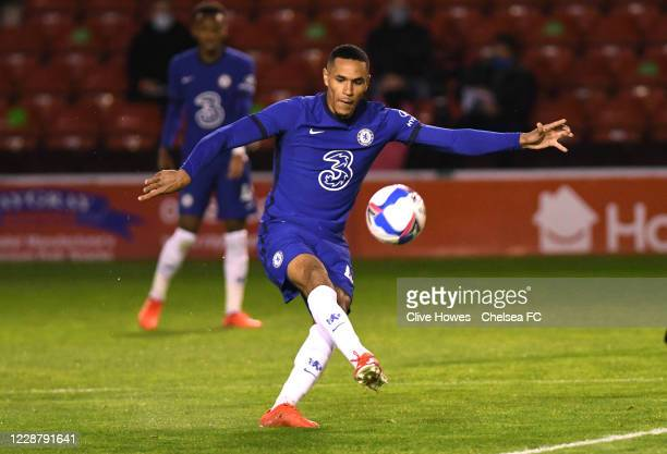 Jon Russell of Chelsea during the Chelsea Development Squad v Walsall EFL Trophy match at Bank's Stadium on September 29 2020 in Walsall England