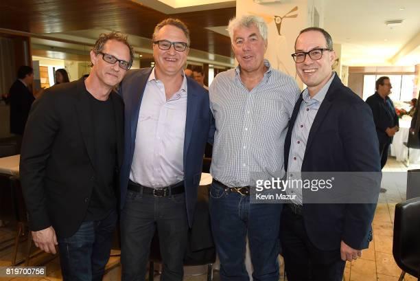 Jon Salter GM ATO Records Jason Weinstock Executive Vice President Red Light Management Coran Capshaw founder of Red Light Management and Will Botwin...