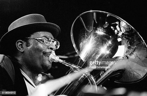 Jon Sass tuba performs on March 7th 1997 at the BIM huis in Amsterdam Netherlands
