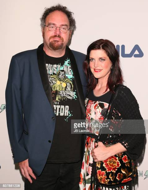 Jon Schnepp And Holly Payne Attend The Extraordinary Stan Lee On August