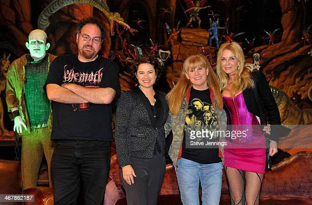 Jon Schnepp Heather Langenkamp PJ Soles and Patty Mullen on the Death Becomes Her panel at Kirk Von Hammett's Fear FestEvil at Grand Regency Ballroom...