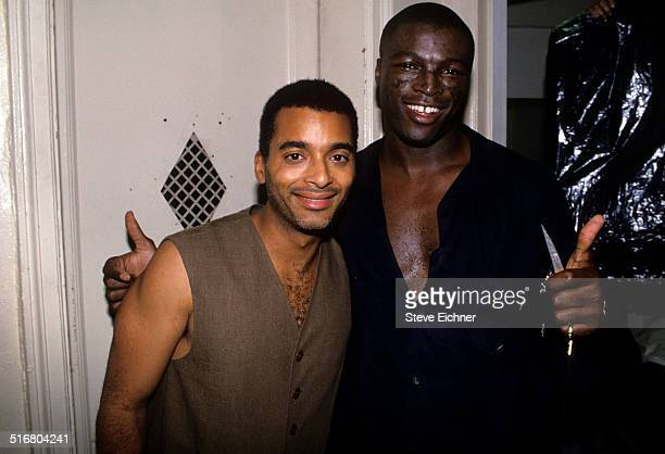 Jon Secada and Seal at Beacon Theatre New York June 24 1994