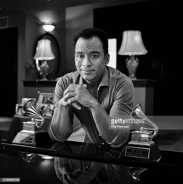 Jon Secada at home in Miami FL