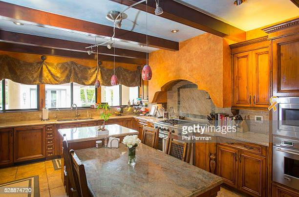 Jon Secada at home in Miami Florida I wanted this to look like an authentic Italian kitchen says Jon even though he cooks a lot of Cuban food in it