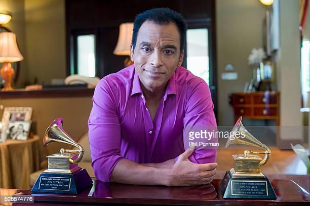 Jon Secada at home in Miami Florida