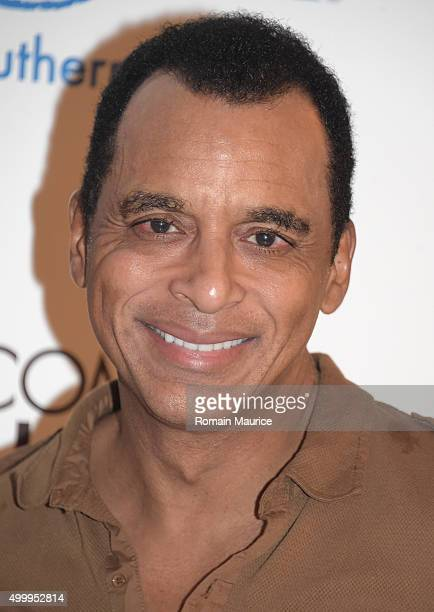 Jon Secada attends Coming Home and MakeAWish Southern Florida Celebrate Miami Art Design Week at Coming Home Gallery on December 3 2015 in Miami...