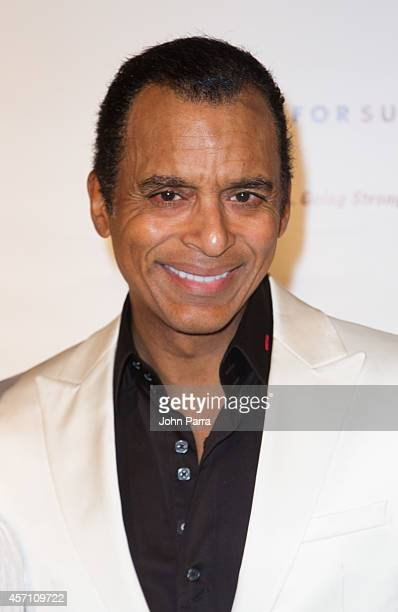 Jon Secada attends Dress for Success Miami Celebrates 20th Anniversary at The Rusty Pelican on October 11 2014 in Key Biscayne Florida