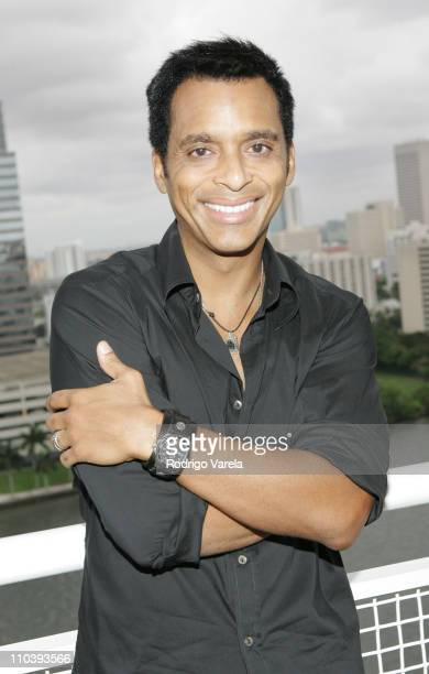 Jon Secada during Jon Secada / Big3 Press Conference at The Mandarin Oriental Hotel in Miami Florida United States
