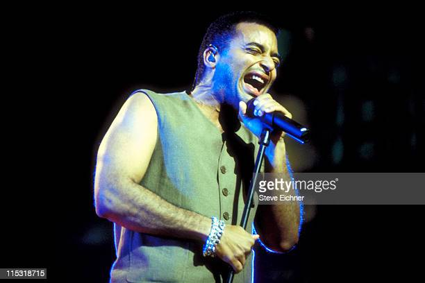 Jon Secada during The Beat Goes On Concert Benefitting LIFEbeat at Beacon Theater in New York City New York United States