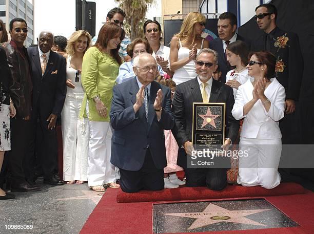 Jon Secada Pedro Knight husband of Celia Cruz Lili Estefan Carlos Ponce Andy Garcia Don Francisco Emilio Estefan Gloria Estefan Emily Marie Estefan...