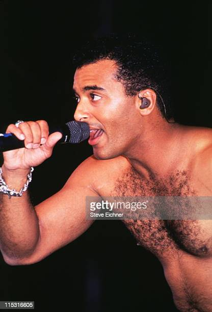Jon Secada performs during The Beat Goes On Concert Benefitting LIFEbeat at Beacon Theater in New York City New York United States