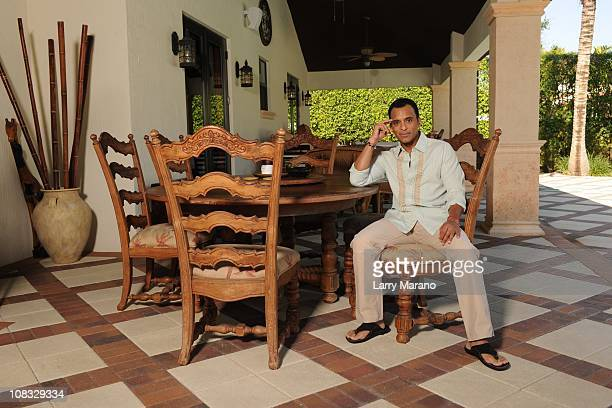 Jon Secada poses for an exclusive at home photo shoot on January 13 2011 in Coral Gables Florida