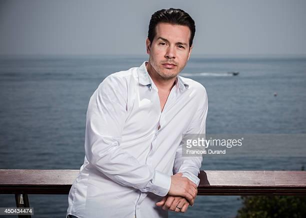 Jon Seda poses during a portrait session at Grimaldi Forum on June 10 2014 in Monaco Monaco