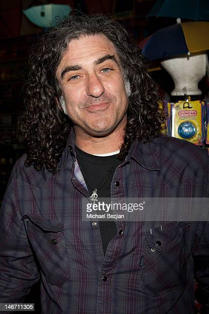 Jon Sidel attends John Scarpati's Cramp Slash And Burn When Punk And Glam Were Twins Photography Exhibit Opening Night on June 22 2012 in Hollywood...
