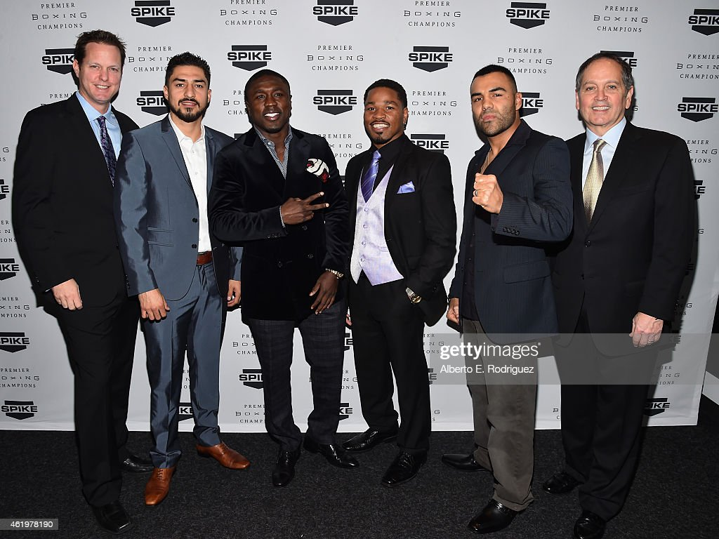 Spike TV Announces New Boxing Series : News Photo