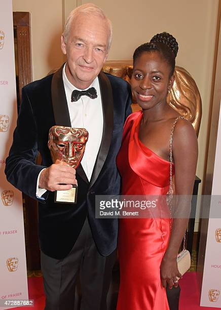 Jon Snow and Precious Lunga attend the After Party dinner for the House of Fraser British Academy Television Awards at The Grosvenor House Hotel on...
