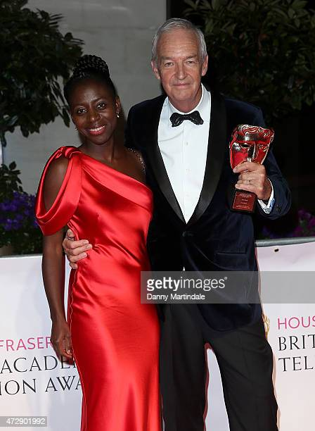 Jon Snow and Precious Lunga attends the After Party dinner for the House of Fraser British Academy Television Awards at The Grosvenor House Hotel on...