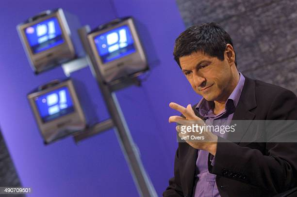 Jon Sopel on the set of the BBC current affairs programme The Politics Show The show is transmitted Sunday lunchtime