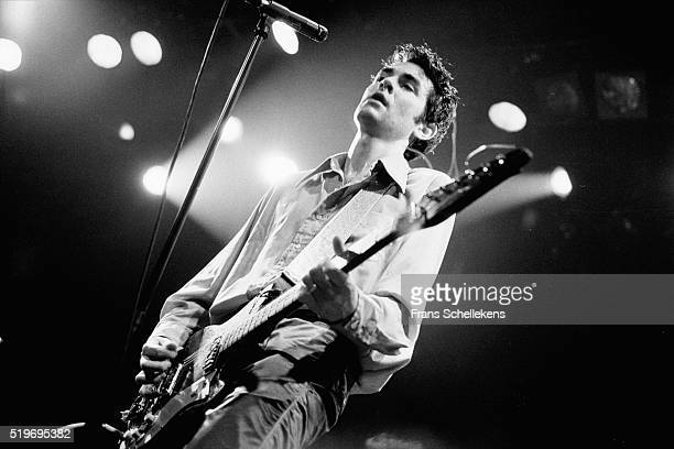 Jon Spencer guitar and vocals performs with the Blues Explosion on October 23rd 1996 at the Melkweg in Amsterdam Netherlands