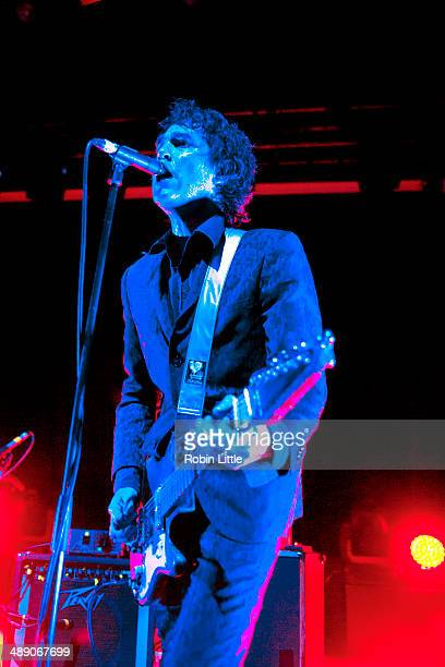 Jon Spencer of Jon Spencer Blues Explosion performs on stage at KOKO on May 9 2014 in London United Kingdom