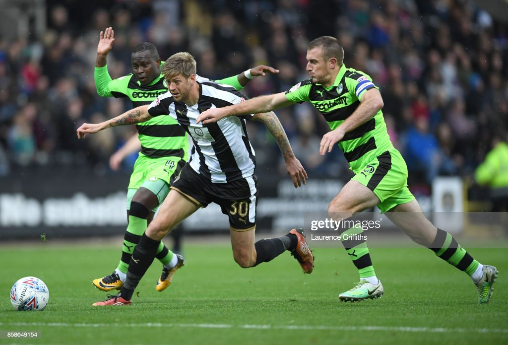 Notts County v Forest Green Rovers - Sky Bet League Two