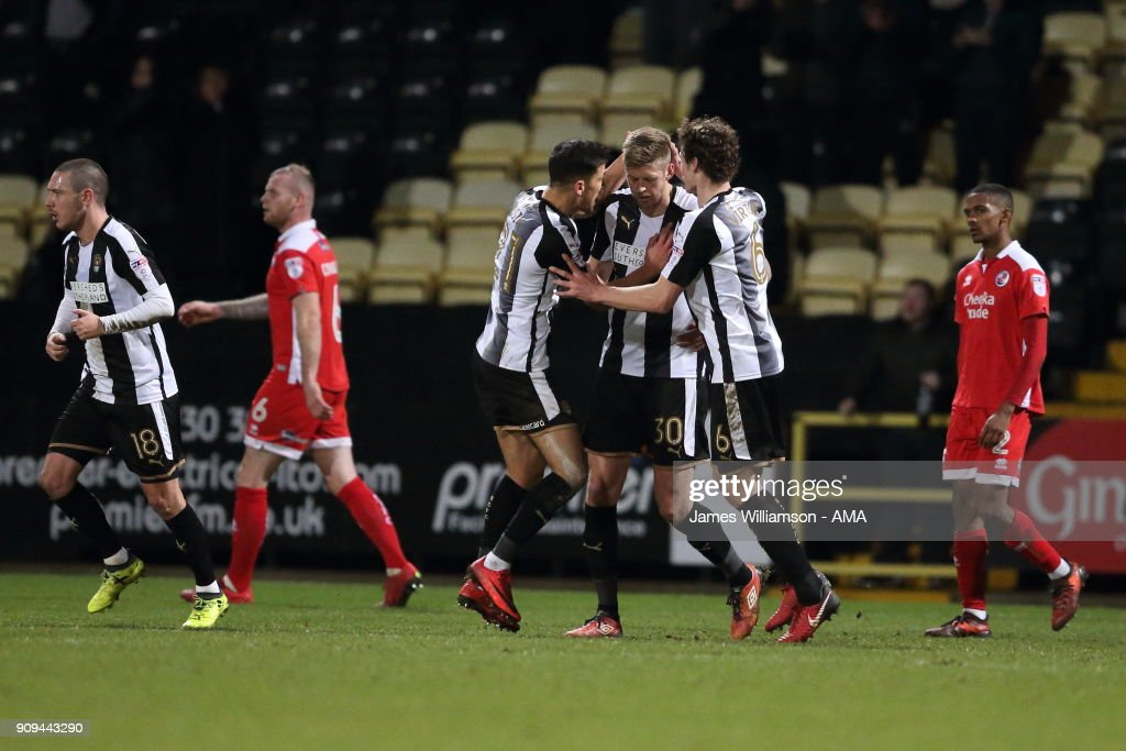 Notts County v Crawley Town - Sky Bet League Two