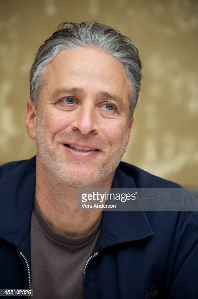 Jon Stewart at the 'Rosewater' Press Conference at The Fairmont Royal York Hotel on September 8 2014 in Toronto Ontario
