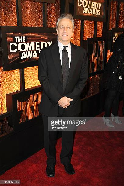 Jon Stewart attends the First Annual Comedy Awards at Hammerstein Ballroom on March 26, 2011 in New York City.